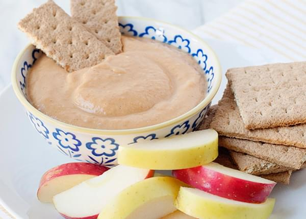 Healthy Pumpkin Pie Dip