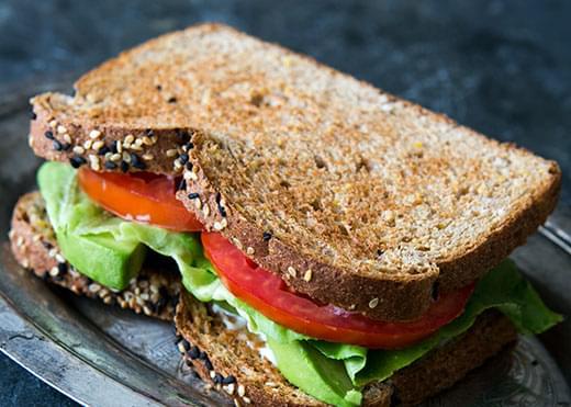 Avocado Lettuce Tomato Sandwich (ALT)
